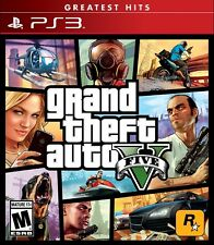 Original New Grand Theft Auto V For Sony PlayStation 3 GTA 5 GTA Five ps3 USA