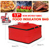 17'' Waterproof Handheld Delivery Pizza Food Storage Insulated Bag Picnic Cloth