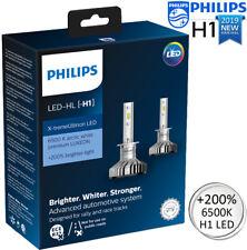 PHILIPS H1 LED Xtreme Ultinon Car Headlight Bulbs 6500K White +200% 11258XUX2