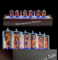 Z5660 NIXIE Tubes Clock Musical RGB Divergence Meter (as IN-18) FREE delivery 3D