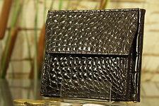 Geldbeutel Geldbörse KRALLE Krokodlils-Leder. Wallet, crocodile, NEW! 1628