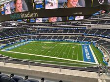 2 Tickets LA CHARGERS vs New York Giants @ SoFi Stadium S353 Row 3