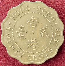 Hong Kong 20 CENTESIMI 1979 (D3004)