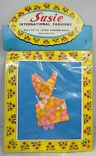 Vintage 1960 s SUSIE International Fashions Teenage Doll Outfit Original Paquet