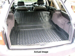 C5 Waterproof Rubber Boot Mat Liner For Estates Audi Allroad 4BH 2000-2005