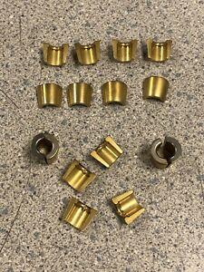 NEW DEL WEST COATED TITANIUM 6 mm VALVES MINI TOP LOCKS KEEPERS RADIUS DW809C