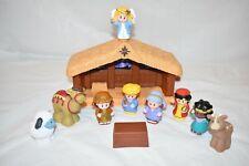 Fisher Price Little People Children's Nativity Set Manger Scene