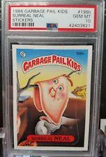 1986 Garbage Pail Kids 5th series 196b Surreal Neal PSA 10 Gem MINT 3821