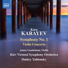 Kara Karayev : Kara Karayev: Symphony No. 1/Violin Concerto CD (2018) ***NEW***