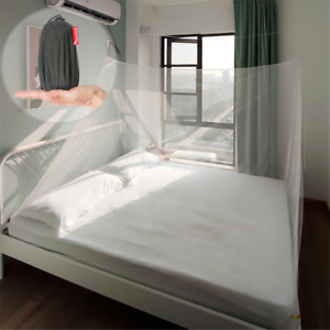 Portable Bed Canopy Mosquito Net Tent Mesh Curtain with Carry Bag Home Travel