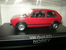 1:43 Norev VW GOLF I GTI 1976 RED/ROSSO N. 840046 OVP