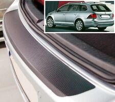 VW Golf MK6 Estate - Carbon Style rear Bumper Protector