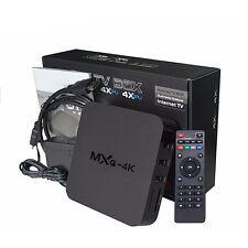 MXQ 4K Pro S905X Android 6 Smart TV WiFi BOX Marshmallow Quad Core 8GB Keyboard