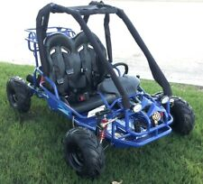 """New 110cc Go Kart with Fully Automatic Transmission w/Reverse, Big 14.5"""" Wheels"""