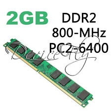 Memory RAM 2GB DDR2 800MHZ PC2-6400 240 Pins For AMD CPU Motherboard Desktop
