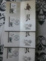 UAE 2019 Mahatma Gandhi 150 years 3 Brochure with stamps First Day Cancellation