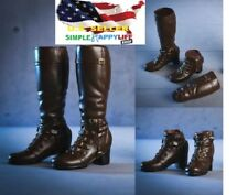 """1/6 Women Boots B for Avengers Scarlet Witch 12"""" Female Figure Hot Toys PHICEN"""