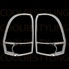 FOR CHEVY TRAILBLAZER 2002-2009 CROME TAILLIGHT COVER