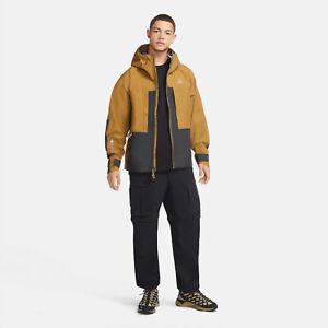 Nike ACG Gore Tex Misery Ridge Jacket CV0634-216 Men's Size Small Beige/Black