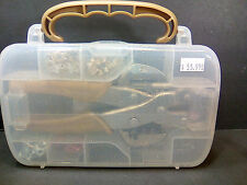Gold Crop-A-Dile Punch Kit Anna Griffin We R Memory Keepers Eyelets Case