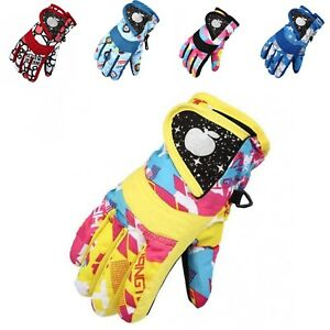 arteesol Children ski gloves Kids Winter Snow Ski Gloves Boys Girls Snowboard Gloves