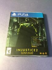 Injustice 2 [ Ultimate Edition W/ STEELBOOK Package ] (PS4) NEW
