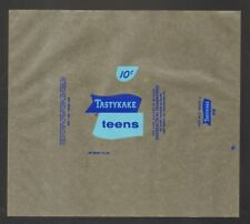 Lot of 5 Undated Unused Tastykake Teens Wrappers 10 cents You will enjoy a pie