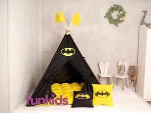 TEEPEE, Kids Teepee EXCLUSIVE, Teepee Tent, Tipi, Play Tent, Teepee, Playhouse