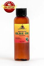 OLIVE OIL EXTRA VIRGIN ORGANIC UNREFINED by H&B Oils Center COLD PRESSED 2 OZ