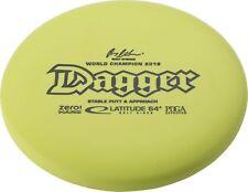 Latitude 64 Dagger Zero Hard Golf Disc: Putter Assorted Colors
