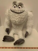"""Monsters Inc YETI 19"""" Plush Abominable Snowman Disney Store Authentic NEW TAG"""