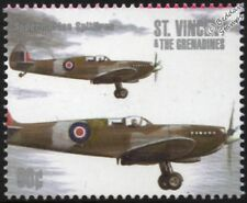 WWII RAF Supermarine SPITFIRE Aircraft Stamp #2 (1940-2000 Battle of Britain)