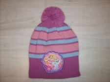 """cappello bimba """"Principesse"""" con Pon pon inverno tg52/54"""
