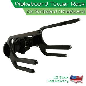 CNC Wakeboard Tower Rack Surfboard Kneeboard Waterski Board Holder Boat Bracket