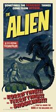 Aliens Alien The Scariest Things Tim Anderson Poster Screen Print 250 SIGNED COA