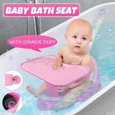 Baby Badesitz Badewannensitz Babybadesitz Bade Sit Rückenlehne mit Tablettplatte