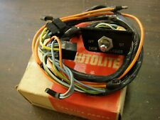 NOS OEM Ford 1966 Mustang Galaxie Falcon Fairlane 4 Way Flasher Switch + Wiring