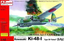 "AZ Models 1/48 KAWASAKI ki-48-i sokei "" Lily "" #48071"