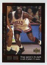 Michael Jordan 1999 Upper Deck Championship Years PLAYOFFS Basketball Card