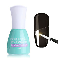 Nail Art UV Gel Polish No Wipe Top Coat Tempered Enhance Soak Off NICOLE DIARY