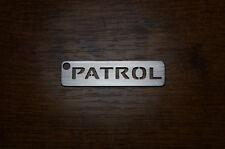 Nissan Patrol en acier inoxydable keychain keyring Schlüsselanhänger