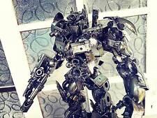 Optimus Prime Transformer Metal Iron Artwork Display Model Decor UniqueHandmade