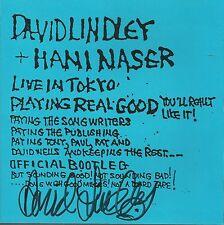 Live In Tokyo * by David Lindley & Hani Naser (CD, 2001) Original Signed