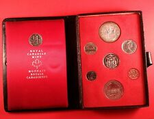 1973 Canada Mint Double Dollar Set With Large Bust 25 Cent Coin