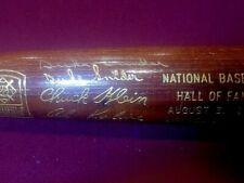 1980 SNIDER, KALINE, +2 HofF Induction Bat 390/500 signed by KALINE & SNIDER