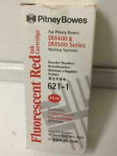 Pitney Bowes 621-1 Fluorescent Ink Cartridge Red für Frankiersystem DM400, DM500