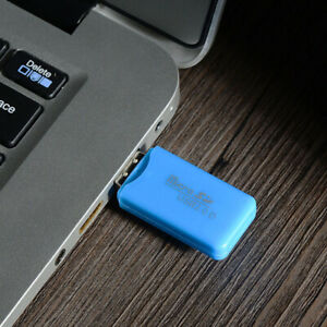 USB 2.0 TF Micro Security Digital Memory Card Reader Adapter for Laptop Reliable
