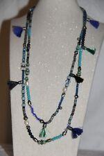Collana con lapislazzuli e perle naturali