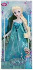 FIRST 2013 Disney Store Classic ELSA doll FROZEN queen barbie sparkling anna sis