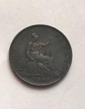 Victoria Half Penny 1880